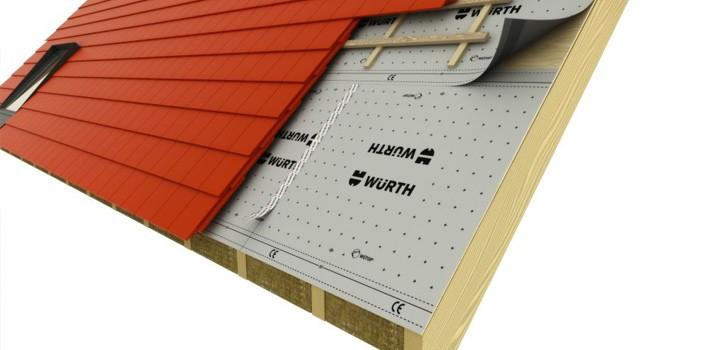 Etancheité de toiture - Wurth Profix® Ingénierie