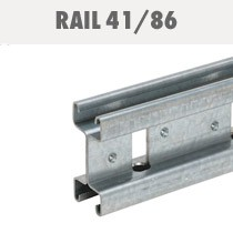 Rail supportage double 41/86
