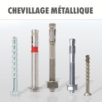 Chevillage metallique